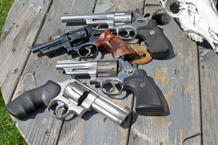 Revolvers of the Gun Geezers