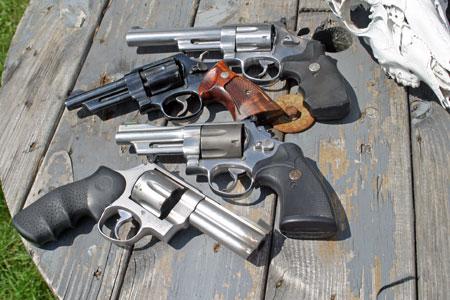 Revolvers of the Gun Geezers