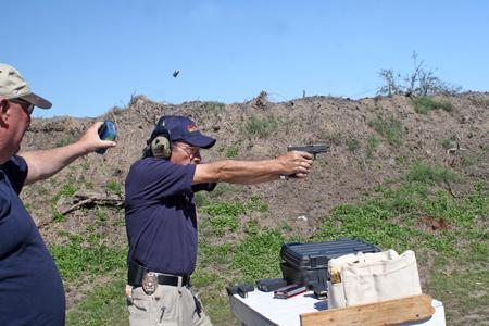 Massad Ayoob shooting Glock30