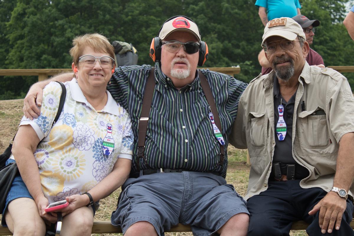 Rosanna Ray, Randy Ray and Massad Ayoob at the Pin Shoot 2007